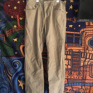 Men's Levi Khaki Pants Size XL